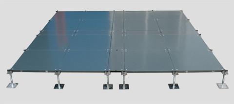 线槽式网络地板